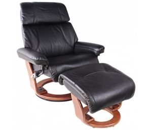 Кресло Reсlainer Relax Piabora 7511W 001 black / 026 honey